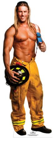 Chippendale Kevin Cornell - Fireman Lifesize Standup Figura de cartón