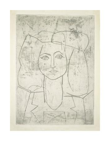 Portrait of Francoise, dressed... Poster van Pablo Picasso