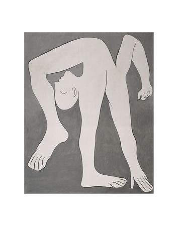 L'acrobate (The Acrobat) Poster van Pablo Picasso
