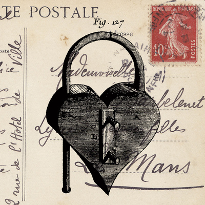 Key To My Heart II Prints by Sabine Berg