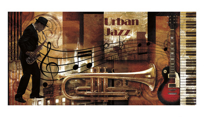 Urban Jazz Prints by Paul Robert