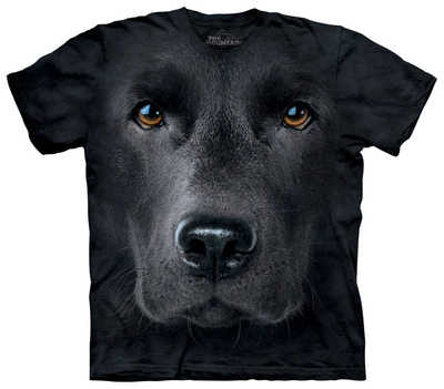 Youth: Black Lab Face T-シャツ