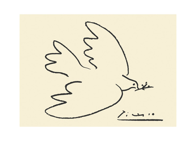 Dove of Peace Print by Pablo Picasso
