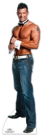 Chippendale Nathan Minor - Cuff N' Collar Lifesize Standup Figura de cartón