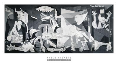 Guernica, 1937 Poster von Pablo Picasso