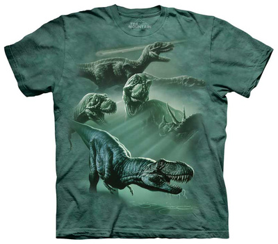Youth: Dinosaur Collage T-Shirt