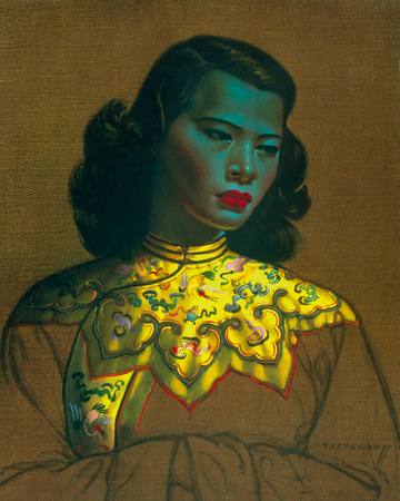 Chinese Girl Photographic Print by Vladimir Tretchikoff