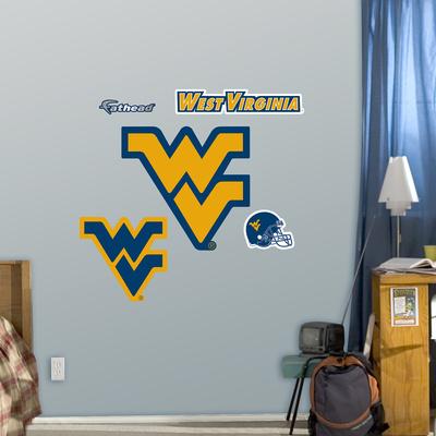 NCAA West Virginia Fathead Jr Wall Decal Sticker Wall Decal