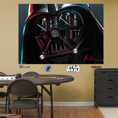 Star Wars Vader Illustration Mural Decal Sticker Wall Mural