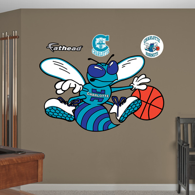 NBA Charlotte Hornets Classic Logo Wall Decal Sticker Wall Decal