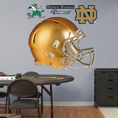 NCAA Notre Dame Fighting Irish Gold Helmet Wall Decal Sticker Wall Decal