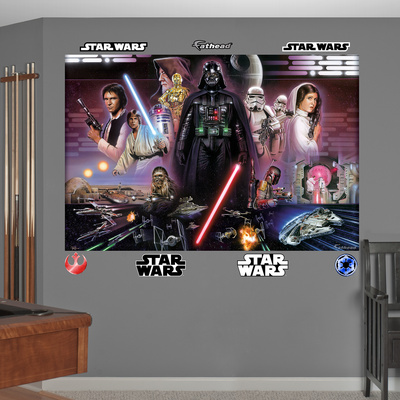 Star Wars Legacy Illustrated Mural Decal Sticker Wall Mural