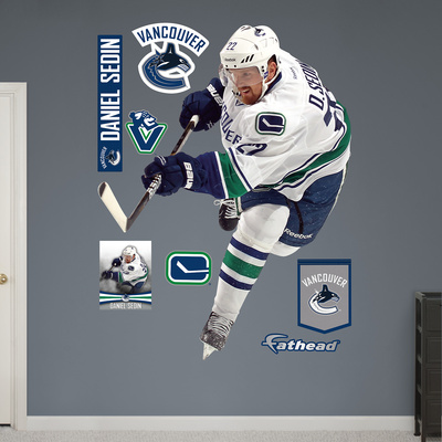 NHL Vancouver Canucks Daniel Sedin Wall Decal Sticker Wall Decal
