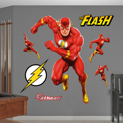 Flash Action Wall Decal Sticker Wall Decal
