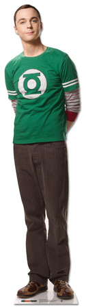 Big Bang Theory Sheldon Standup Cardboard Cutouts