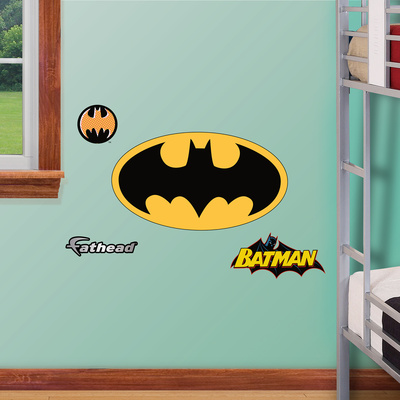 Batman Logo 2012 Jr Wall Decal Sticker Wall Decal