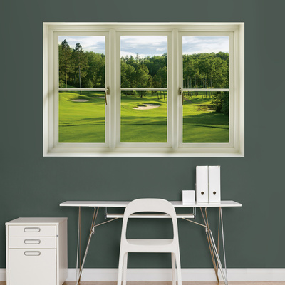 Golf Tee Box Instant Window Wall Decal Sticker Wall Decal