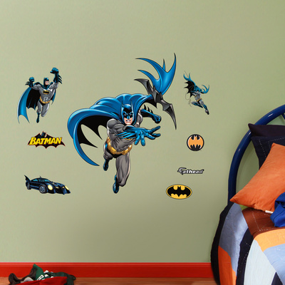 Batman 2012 Jr Wall Decal Sticker Wall Decal