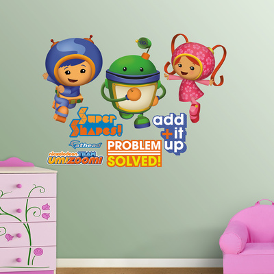 Team Umizoomi Wall Decal Sticker Wall Decal
