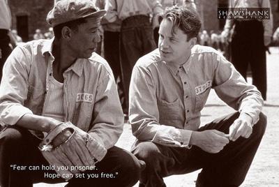 Shawshank Redemption Hope Movie Poster Plakater