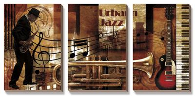 Urban Jazz Poster by Paul Robert