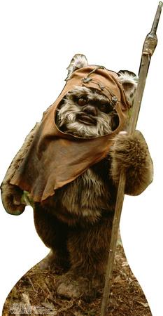 Wicket Wystri Warrick (Ewock) - Star Wars Lifesize Standup Cardboard Cutouts