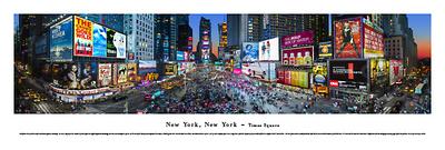 New York, New York - Times Square Prints by James Blakeway