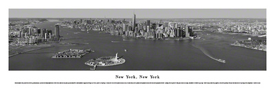 New York, New York - (Black & White) Prints by James Blakeway