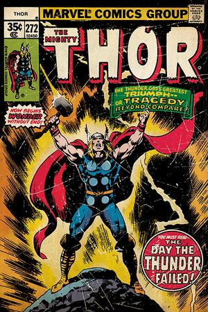Thor - Retro Comic Photo