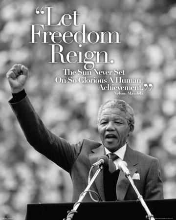 Nelson Mandela Speech Poster