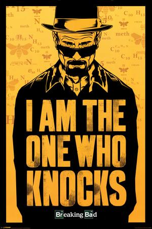 Breaking Bad - I am the one who knocks Plakat
