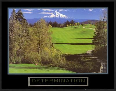 Determination: Golf Prints