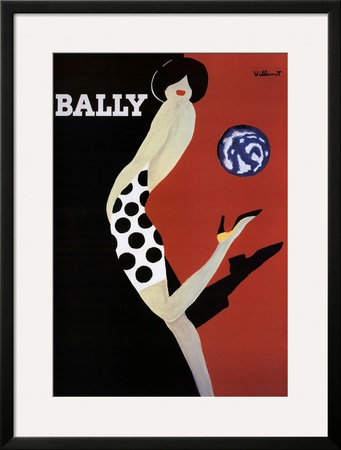 Bally Posters by Bernard Villemot
