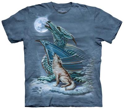 Dragon Wolf Moon T-shirts