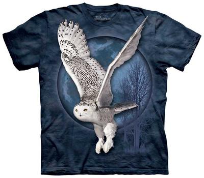 Snow Owl Moon T-shirts