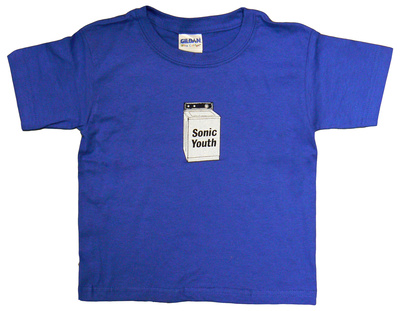 Toddler: Sonic Youth - Baby Washer Shirt