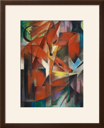 The Fox, c.1913 Prints by Franz Marc