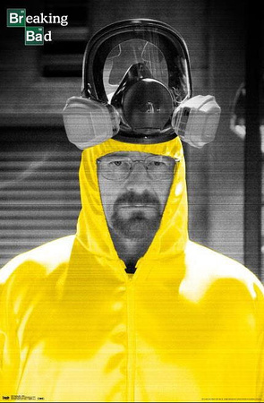 Breaking Bad Yellow Chemical Suit TV Poster Photo