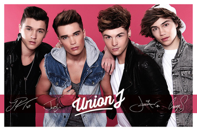 Union J (Pink) Posters