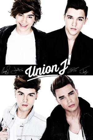 Union J (B&W) Print
