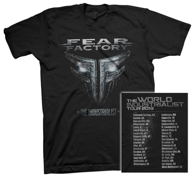 Fear Factory - Industrialist Tour T-Shirt