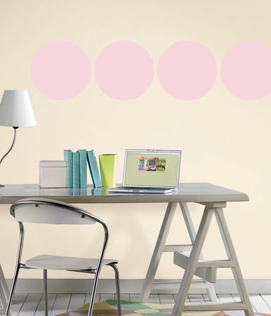 Gigi Pink Dot Wall Decal Sticker Wall Decal