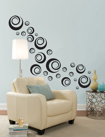 Ringlets Wall Art Kit Wall Decal