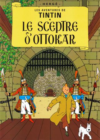 Le Sceptre d'Ottokar, c.1939 Print by  Hergé (Georges Rémi)