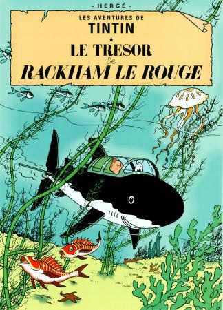 Le Trésor de Rackham Le Rouge, c.1944 Kunsttryk