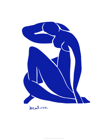 Blue Nude Reproduction d'art