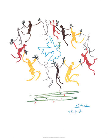 picasso artist. The Dance of Youth Art Print