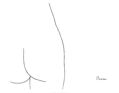 Femme ポスター : パブロ・ピカソ