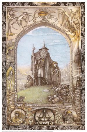The Lord of the Rings Affischer av J. Cauty