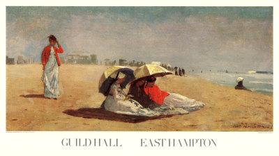 East Hampton Beach Prints by Winslow Homer